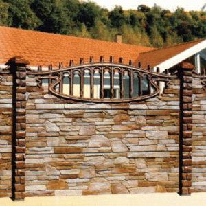Декоративный бетонный забор (zb001)