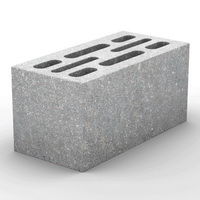 Керамзитобетонные 8-щелевые блоки КСР-ПР-ПС-39-100-F50-1940