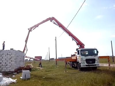 Товарный бетон в Заокском районе, бетононасос