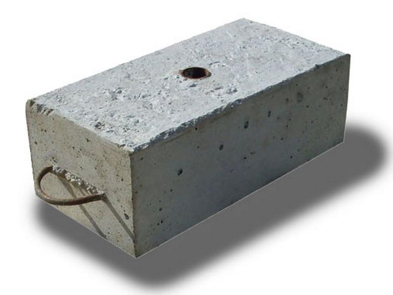 Противовесы для фасадных подъемников