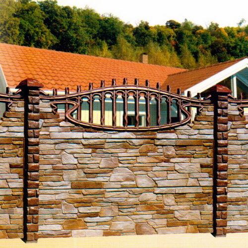 Декоративный бетонный забор (Еврозабор)